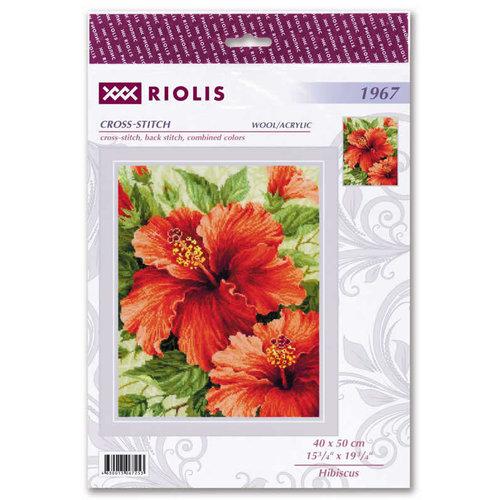 RIOLIS Borduurpakket Hibiscus - RIOLIS