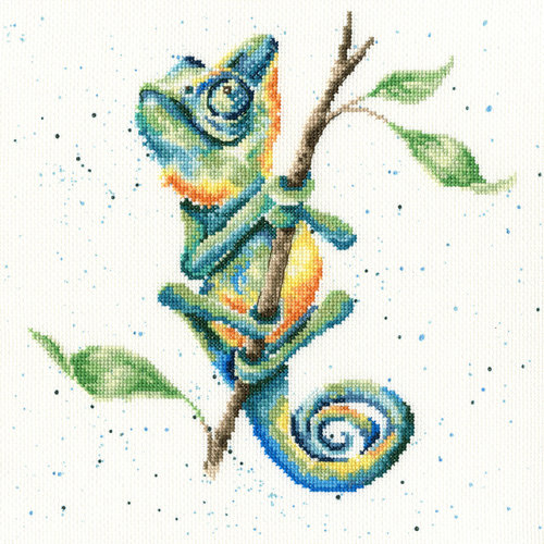 Bothy Threads Borduurpakket Hannah Dale - One In A Chameleon - Bothy Threads