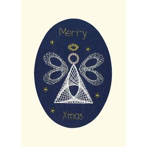 Bothy Threads Borduurpakket Bothy Designs - Christmas Angel - Bothy Threads