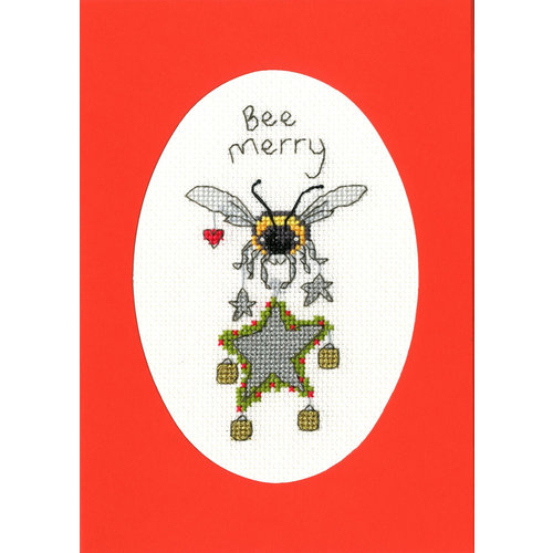 Bothy Threads Borduurpakket Eleanor Teasdale - Bee Merry - Bothy Threads