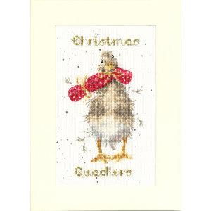 Bothy Threads Borduurpakket Hannah Dale - Christmas Quackers - Bothy Threads