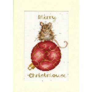 Bothy Threads Borduurpakket Hannah Dale - Merry Christmouse - Bothy Threads