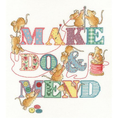 Bothy Threads Borduurpakket Margaret Sherry - Make Do And Mend - Bothy Threads