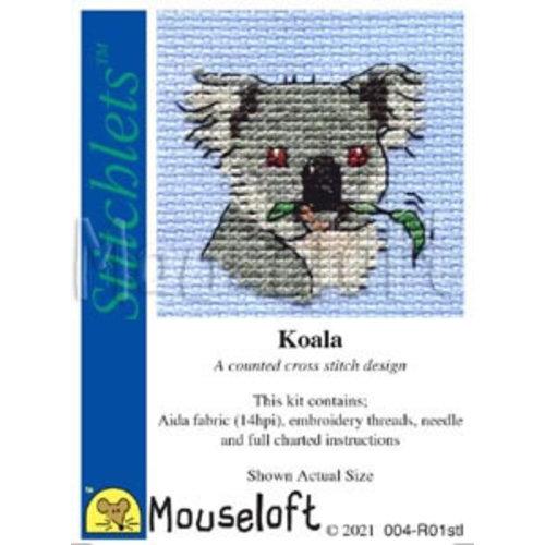 Mouseloft Borduurpakket Koala - Mouseloft