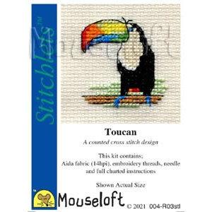 Mouseloft Borduurpakket Toucan - Mouseloft