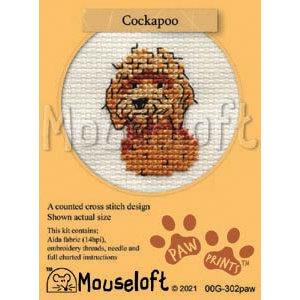 Mouseloft Borduurpakket Cockapoo - Mouseloft