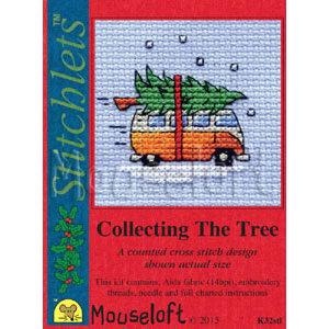 Mouseloft Borduurpakket Camper Van Collecting The Tree - Mouseloft