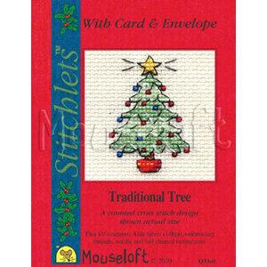 Mouseloft Borduurpakket Traditional Tree - Mouseloft