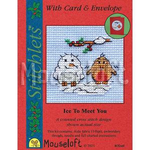 Mouseloft Borduurpakket Ice to Meet You - Mouseloft