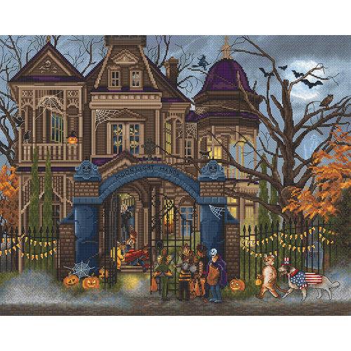 Leti Stitch Borduurpakket Moonlight Manor - Leti Stitch