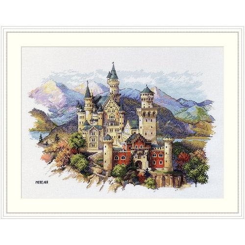 Merejka Borduurpakket Neuschwanstein Castle - Merejka