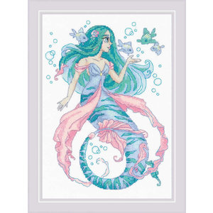 RIOLIS Borduurpakket Little Mermaid Rosalina - RIOLIS