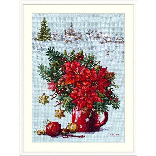 Merejka Borduurpakket Happy Holiday - Merejka
