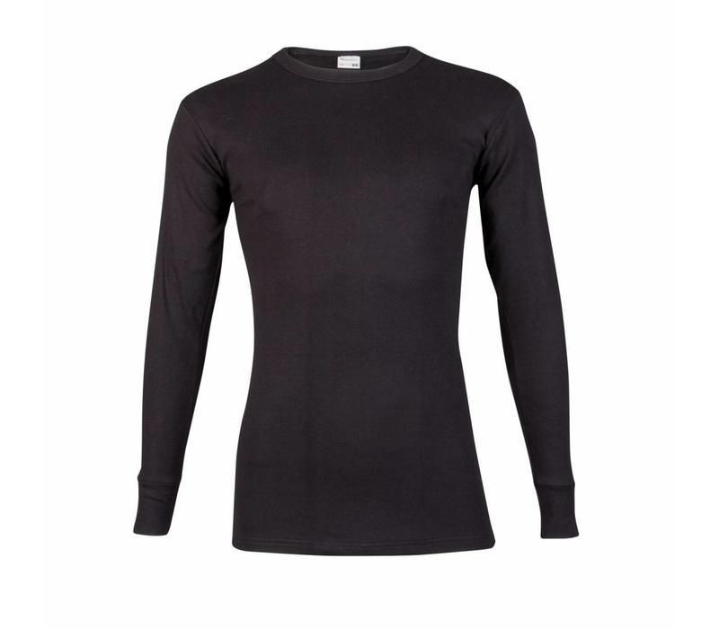 Beeren Heren T-shirt met Lange Mouw M3000 Zwart