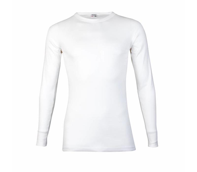 Beeren Heren T-shirt met Lange Mouw M3000 Wit
