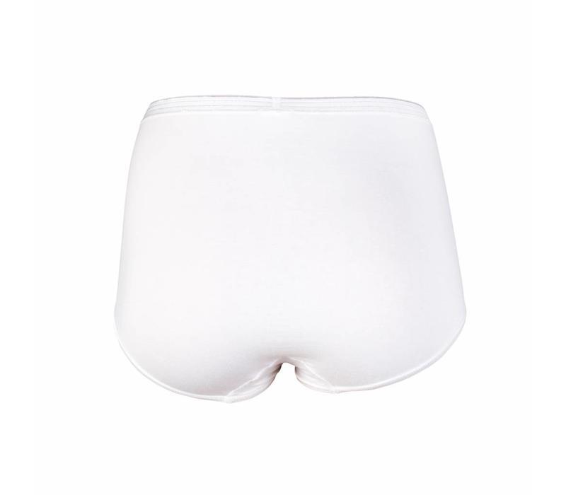 Dames Slips Maxi  Comfort Feeling Wit (2-pack)