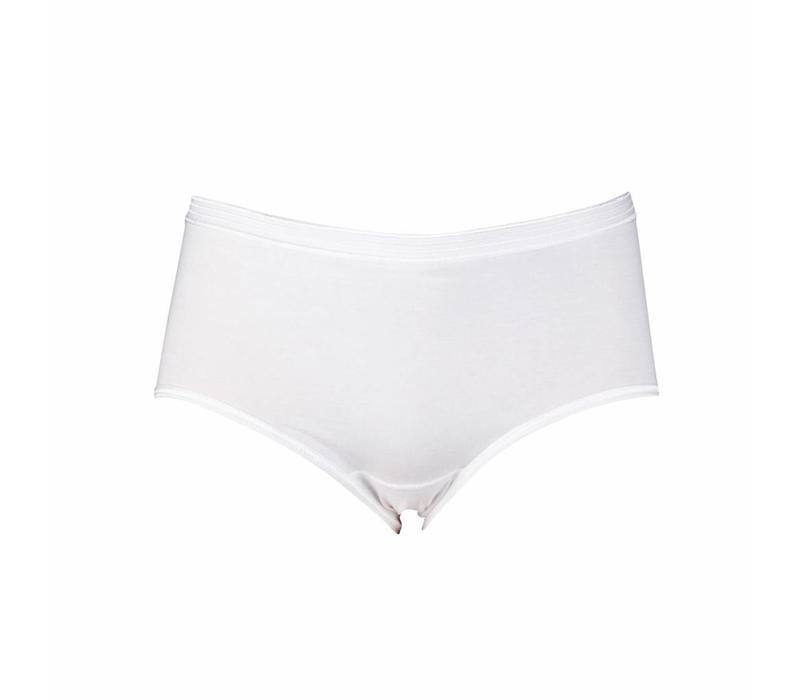 Dames Slip Midi  Comfort Feeling Wit
