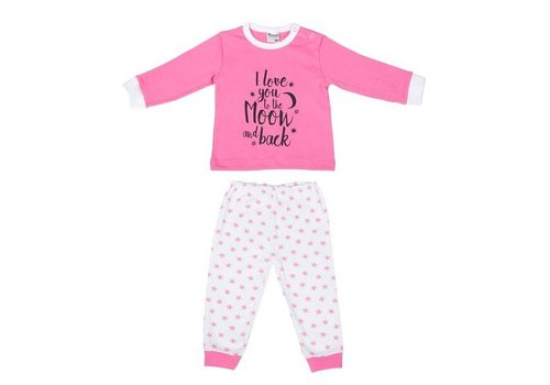 Beeren Ondergoed Beeren Baby pyjama to the Moon Roze