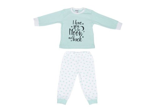 Beeren Ondergoed Beeren Baby Pyjama to the Moon Mint