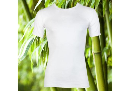 Maxx Owen Maxx Owen Bamboe heren T-shirt K.M. Wit Bundel 10+2