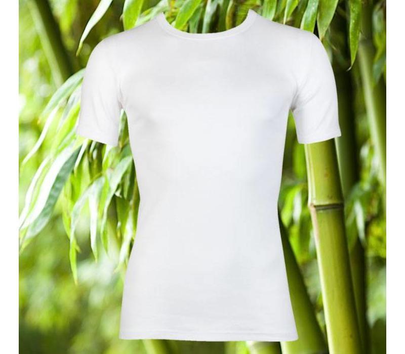 Maxx Owen Bamboe heren T-shirt K.M. Wit Bundel van 5