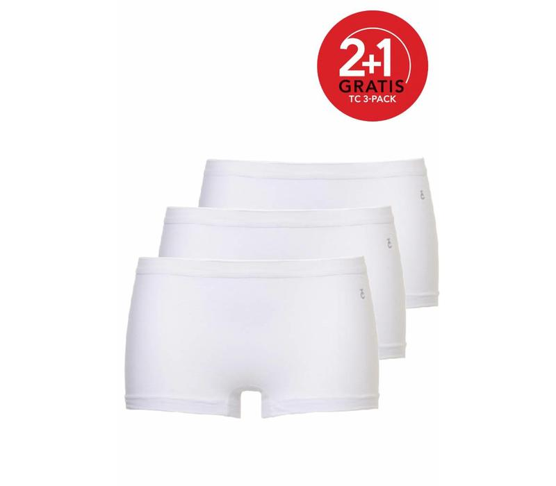 Ten Cate Dames Short 3-Pack Wit