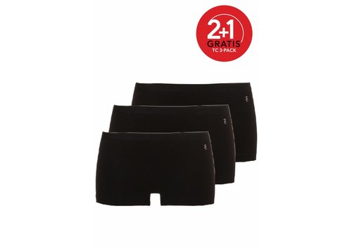 Ten Cate Ten Cate Dames Short 3-Pack Zwart