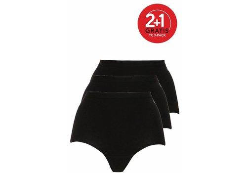 Ten Cate Ten Cate Dames Maxi 3-pack Zwart