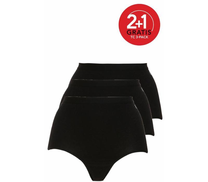Ten Cate Dames Maxi 3-pack Zwart