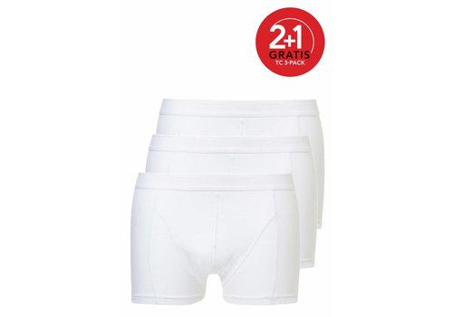 Ten Cate Ten Cate Heren Shorty 3-pack Wit
