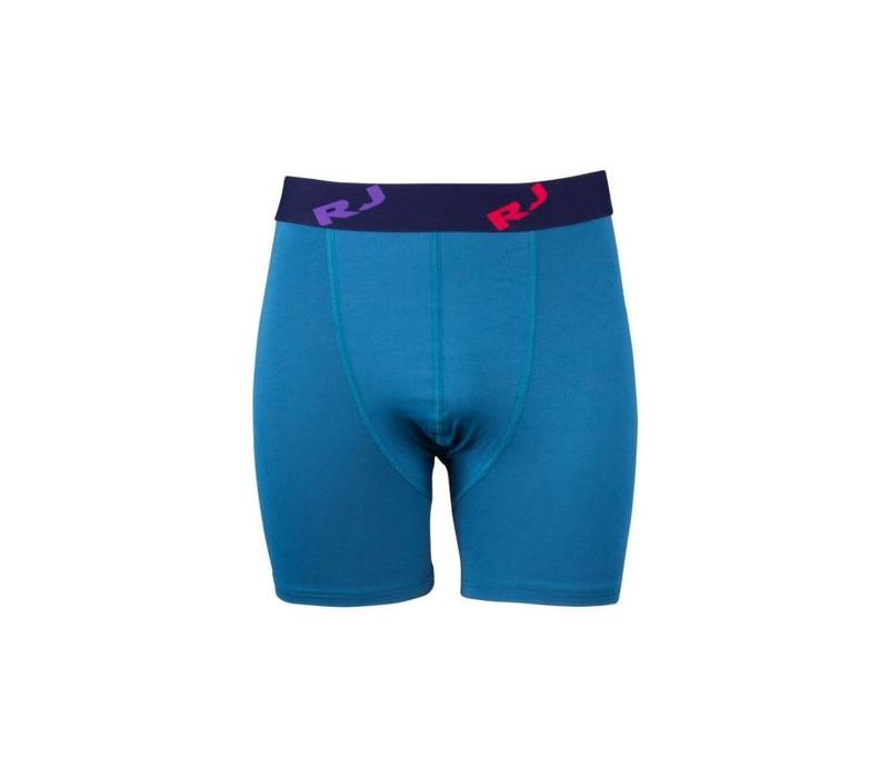 RJ Bodywear Pure Color Heren Boxershort Petrol