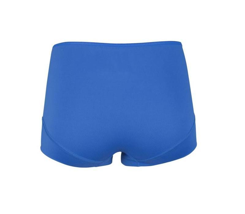 RJ Bodywear Dames Short Pure Color Blauw