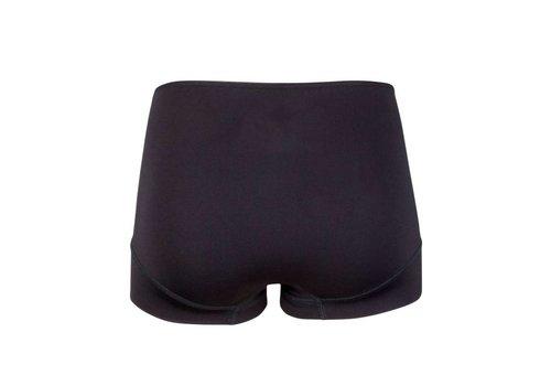 RJ Bodywear RJ Bodywear Pure Color Invisible Dames Taille Slip Zwart