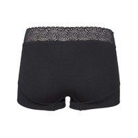 RJ Bodywear Pure Color Lace Dames Short Zwart