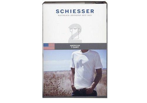 Schiesser Schiesser T-shirt R-hals 2-pack