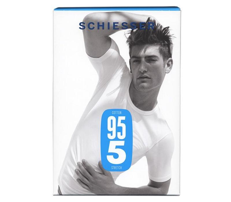 SchiesserT-shirt R-hals 95/5