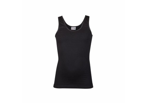 Beeren Ondergoed Beeren Meisjes  hemd Comfort Feeling Zwart  Bundel van 3