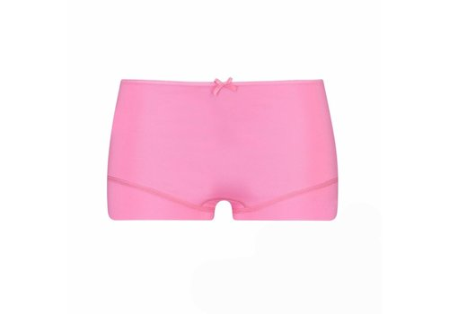 RJ Bodywear RJ Bodywear Dames Short Pure Color Felroze