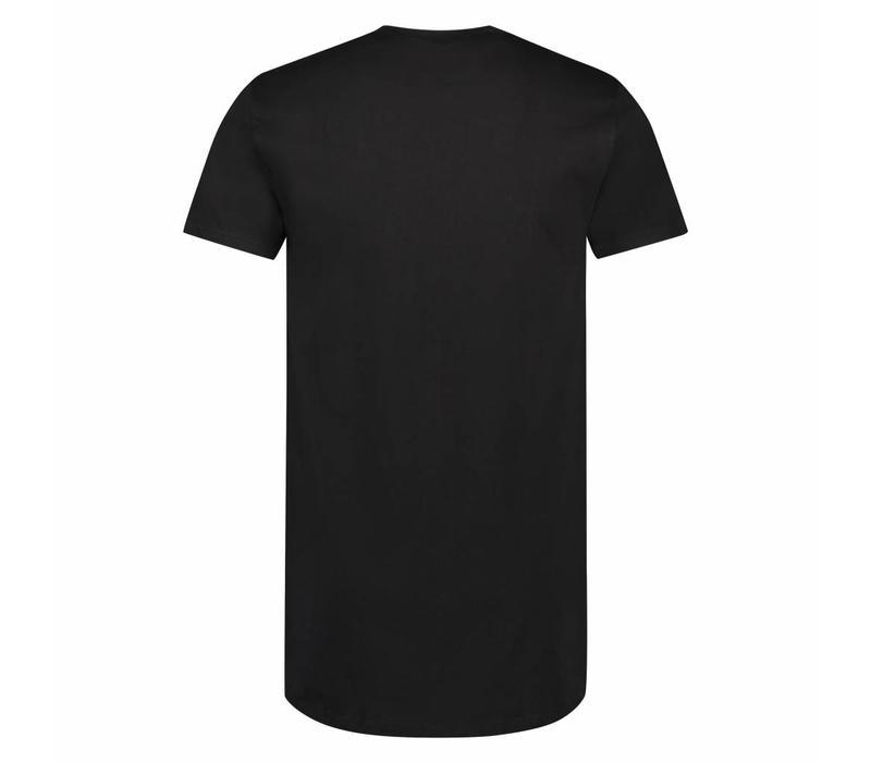 Beeren Heren American T-shirt Classic korte mouw Zwart