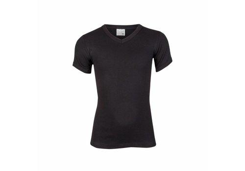 Beeren Ondergoed Beeren Jongens T-shirt V hals Zwart