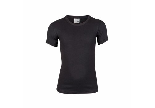 Beeren Ondergoed Beeren Jongens T-shirt ronde hals Zwart