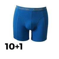 Maxx Owen Heren Boxershort  Blauw Bundel 10+1