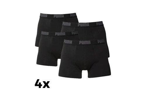 Puma Puma Heren Boxer 4-pack Zwart