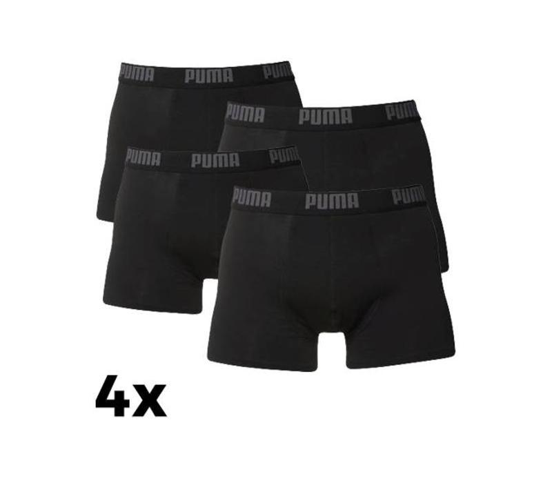 Puma Heren Boxer 4-pack Zwart
