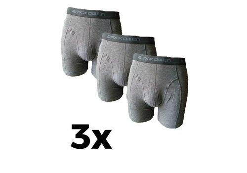 Maxx Owen Maxx Owen Bamboe heren Boxershort Grijs  3 Pack