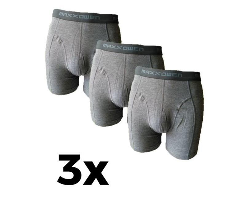 Maxx Owen Bamboe heren Boxershort Grijs  3 Pack