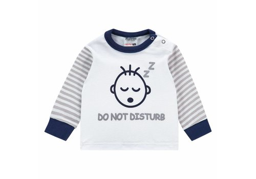 Beeren Ondergoed Beeren Baby pyjama Do Not Disturb Grey