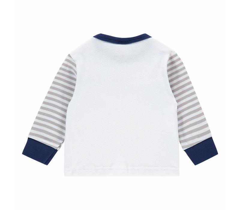 Beeren Baby pyjama Do Not Disturb Grey