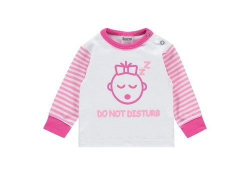 Beeren Ondergoed Beeren Baby pyjama Do Not Disturb Roze