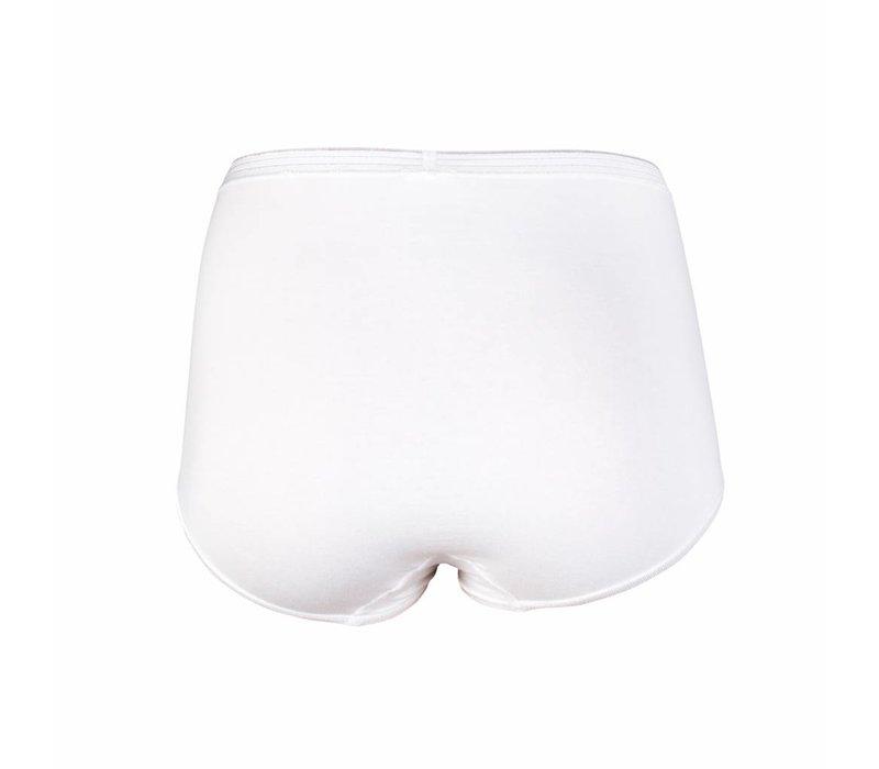 Dames tailleslip (Maxi)  Comfort Feeling Wit Bundel van 5